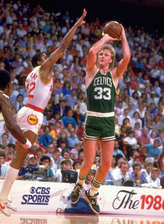 Image result for larry bird in game